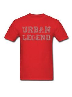 KingTS Custom Printed Urban Legend Men's T-Shirts red Ohio State Marching Band, Ohio State Gear, Urban Legends, Urban Fashion, Men's Fashion, Ohio State Buckeyes, Tee Design, Branded T Shirts, Custom Design