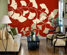 Pattern: Vignette_8932 :: Book: Tella Peel and Stick Murals Volume 1 by 4Walls :: Wallpaper Wholesaler