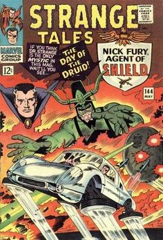 Strange Tales #144 - The Day Of The Druid!