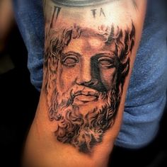 Poseidon by Ryan @ Studio Tattoo Henderson NV 89011. 702)564-7841