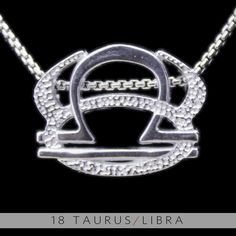 The Taurus/Libra Unity Pendant is a beautiful and meaningful way to share and express the love between an Taurus and a Libra. All Silver Unity Pendants are cast in Bronze with a thick Sterling Finish and come with a SIlver finished necklace.  Also presented in a truly unique two metal (pure silve...