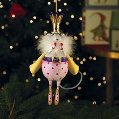 Patience Brewster - Mouse King Ornament