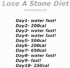 Lose a Stone (14 pounds) Diet