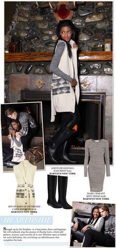 "Jenesequa Magazine: Apres Ski ""What to wear hearth-side"""