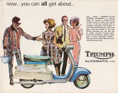 Triumph T10 Advert