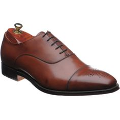 Cheaney Cambridge semi-brogues in dark leaf from Herring Shoes Cheaney Shoes, Brogues, Cambridge, Me Too Shoes, Oxford Shoes, Dress Shoes, Lace Up, Stylish, Fashion