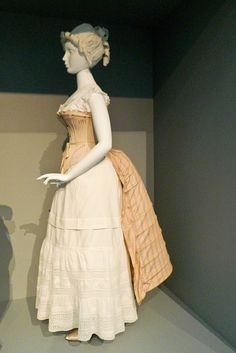 European Women's Undergarments, late 19th Century - Fashioning Fashion - LACMA by Marshall Astor - Food Fetishist, via Flickr