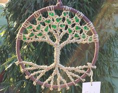 Macrame Wall Hanging // Tree of Life // 8 by Evergreenbohemian