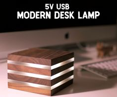 Modern LED Desk Lamp...Powered by 5V USB