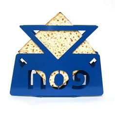 Matzos Holder  Star of David  Jewish Passover matzah by limoryaron