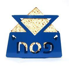 Matzos Holder  Star of David  Jewish Passover matzah by limoryaron