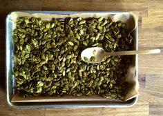 Turmeric Lime Toasted Pepitas� �Jill Donenfeld