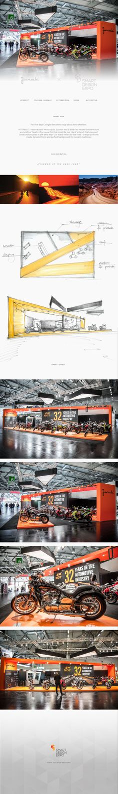 We made exhibits for one of the largest motorcycle companies. Are you curious to know which one? TriadCreativeGroup.com