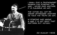 """Hitler Quotes About Power   are segments of what Hitler ACTUALLY said during the """"Hitler Quote ..."""