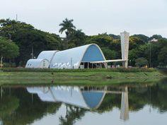 Oscar Niemeyer -Conjunto da Pampulha, 1940, Belo Horizonte
