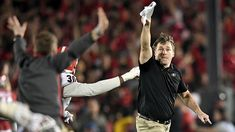 Watch: Kirby Smart appears to drop MF-bomb after Georgia wins Rose Bowl - Sporting News