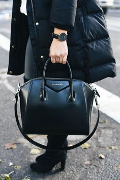 bf92cef0446 Givenchy Antigona Large Bag in Normal Leather