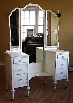 Early 1900's OneofaKind Vanity by jmrestorationco on Etsy, $675.00