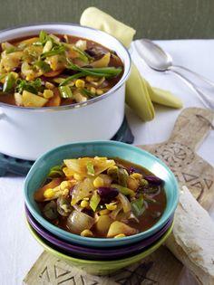 Unser beliebtes Rezept für Mexikanisches Zwiebel-Kartoffel-Gulasch und mehr als 55.000 weitere kostenlose Rezepte auf LECKER.de.