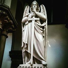 Archangel Michael in a Catholic church near the minster in York