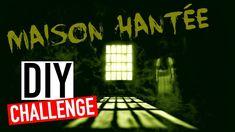 DIY CHALLENGE Halloween avec mon fils : La Maison Hantée (français)