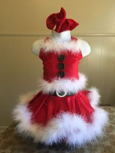 National Pageant Christmas Holiday Santa Clause Casual Wear Dress Sz 18months 3T | eBay