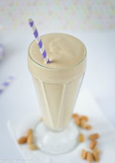 This healthy Peanut Butter Milkshake is one of the most popular recipes on my website! It's THM:S, low carb, sugar free, and gluten free.