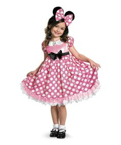 Take a look at this Pink Glow-In-The-Dark Minnie Dress-Up Set - Toddler & Girls by Disney on #zulily today!