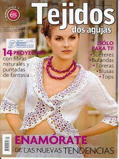 Revistas: Tejidos y Manualidades: Revista: Dos agujas 31 (tejido Fácil!!!)