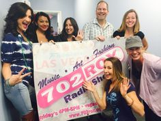 Nov 21st 5-6pm 702 ROX Show with author Lisa Land, owner of Rockin Bettie Amy Ortiz, owner of All About Catering LV Alexis Amity, Dr. Allen Evans with cohosts Mindy Tatti, Laura Rubelli and host Roxy Davis