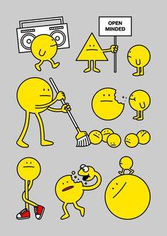OPEN MINDED | 土谷尚武 |【東京イラストレーターズ・ソサエティ(TIS)】Tokyo Illustrators Society