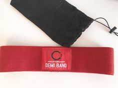 The BEST hip circle band on the market! Won't roll, Durable, doesn't cut into skin and ACTIVATES THE GLUTES AND CORE like no other! Plus coordinating 20 minute daily online workouts - All with National TV Fitness Expert Ali Holman! Get her creation, the #DemiBand, at www.corecamper.com/products