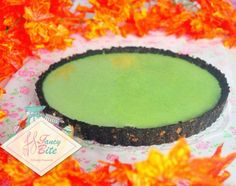 Oreo Crust Matcha Creamy Tart Recipe / No bake, Creamy, Delicious recipe with…