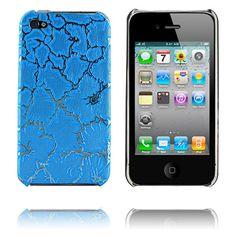 Spider (Blå) iPhone 4-Skal