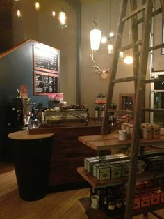 Wonderful eclectic and cozy coffee shop in downtown Tigard. Love it here <3