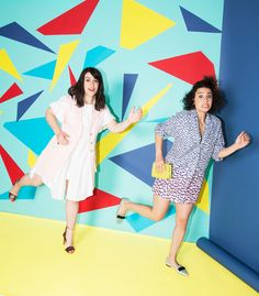 ABBI JACOBSON AND ILANA GLAZER