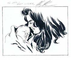 Alex Ross - Wonder Woman, in JoelThingvall GALLERY OF WONDER WOMAN ART's Wonder Woman Family Comic Art Gallery Room - 59478