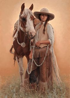 """colorful animal art Shape is part of Colorful Animal Paintings Fine Art America - Summer Solace"""" ~ Carrie L Ballantyne Colorful Animal Paintings, Colorful Animals, Cowboy Art, Cowboy And Cowgirl, Arte Equina, Vintage Cowgirl, Western Riding, West Art, Le Far West"""