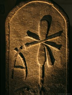 Stele of 1st Dynasty Queen, Egyptian Museum, Abydos, Cairo, Egypt Photographic…