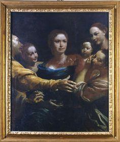 La famiglua Zanobi Troni. 1735. Pinacoteca Nazionale di Bologna