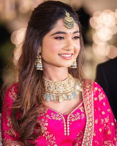 Best Bridal Makeup, Bridal Makeup Looks, Indian Bridal Makeup, Indian Bridal Fashion, Bridal Looks, Bridal Hairstyle Indian Wedding, South Indian Bride Hairstyle, Bridal Hairdo, Lehenga Hairstyles