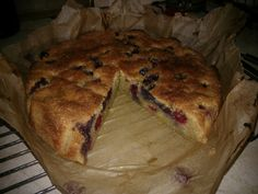 Cooking Club Week 4: Almond and Berry Cake