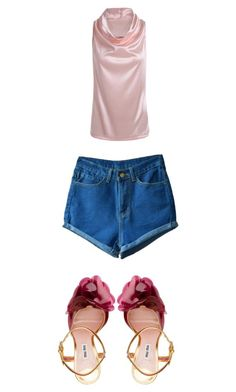 """Untitled #5943"" by bellagioia ❤ liked on Polyvore featuring Miu Miu"