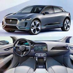 Jaguar I-Pace Concept 2017 Inspirado no C-X75 conceito superesportivo o I-Pace o  é um protótipo de SUV elétrico com silhueta de coupé. Várias tecnologias do modelo vêm de equipamentos da Fórmula E. Sem túnel de transmissão aproveita bem os 2.99m de distância entre eixos. São 4.68m de comprimento e 1.89 de largura.  O I-Pace tem dois motores elétricos um em cada eixo. Juntos produzem 400cv e 700Nm de torque. Segundo a @jaguar faz de 0 a 100km/h em apenas 4s e ainda tem autonomia de 500km no…