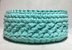 Kosz ze sznurka bawełnianego dziergany na szydełku / crochet basket Merino Wool Blanket, Blog, Blogging
