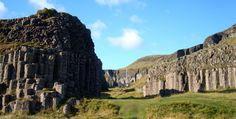 Dwarf Rocks near Foss á Síðu in South Iceland
