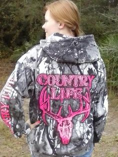 The snow camo zip up hoodie looks great! www.countrylifeoutfitters.com