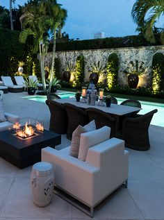 Fabulous outdoor space.