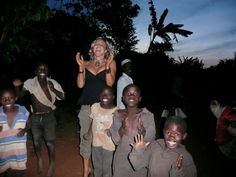 Siobhan OneMama- ShaBoom Neilland says she finally found her childlike nature there, running, playing chase and singing with the children and dancing with them during Christmas time.