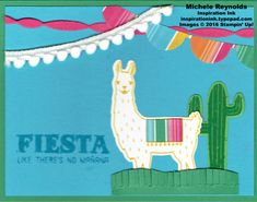 Walk In Wednesday - Birthday Fiesta and Floral Phrases